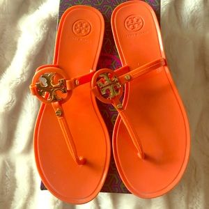 Original Tory  Burch mini miller jelly thong